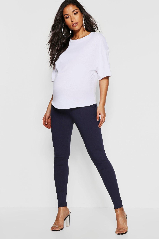 premaman bassa Boohoo vita a skinny Jeans T6qUvq