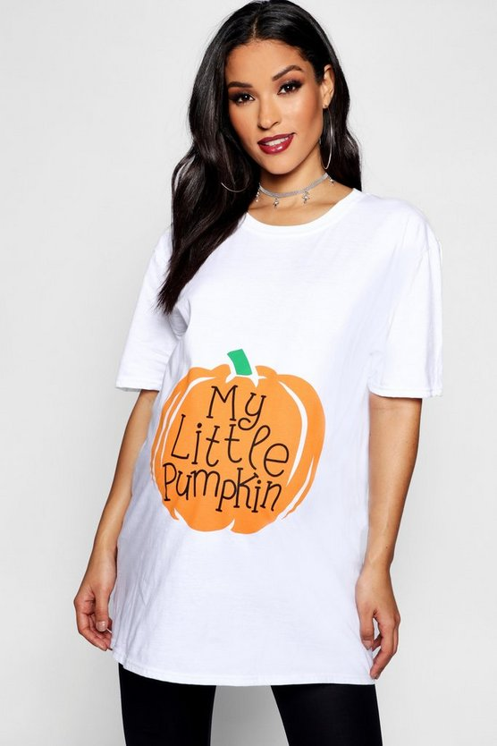 Maternity My Little Pumpkin Halloween T-Shirt