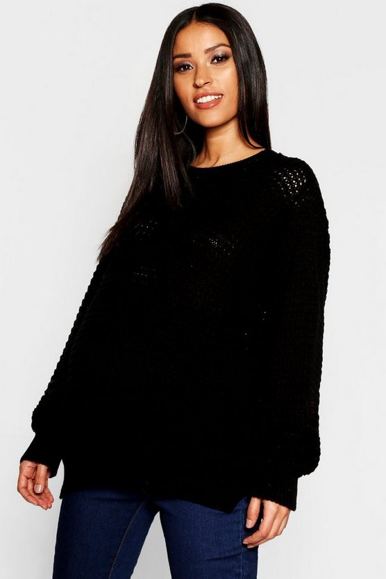 Maternity Crew Neck Jumper
