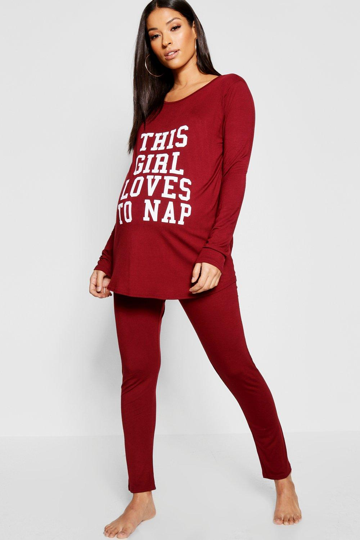 Nap Loves Maternity Set To Pyjama berry nA4Cwx1a4q