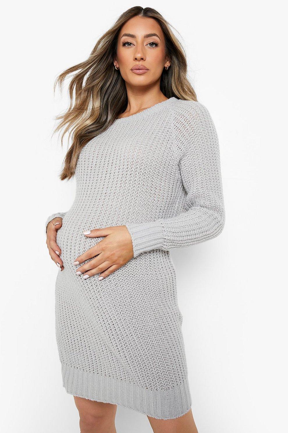 77660111f79 Maternity Soft Knit Jumper Dress
