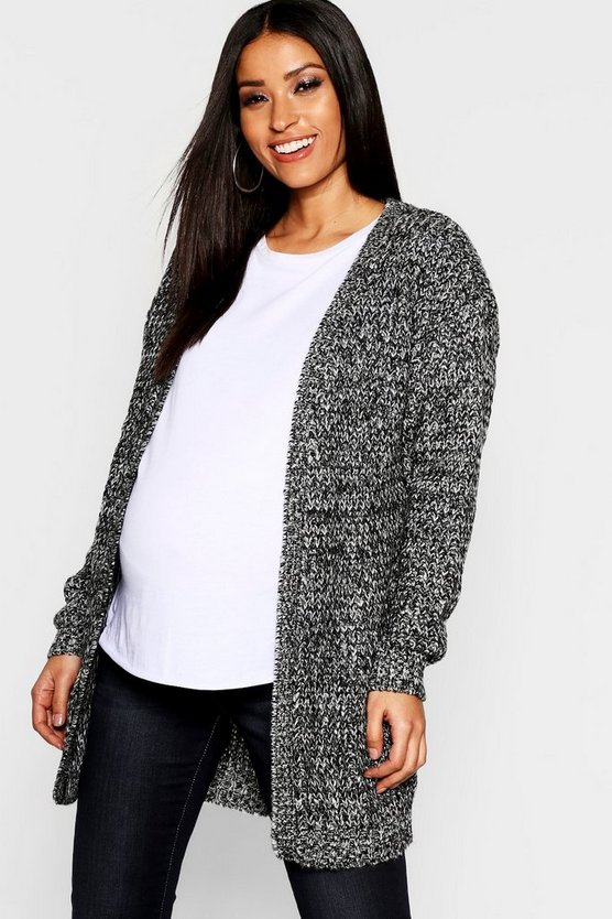 Maternity Long Edge To Edge Maxi Cardigan