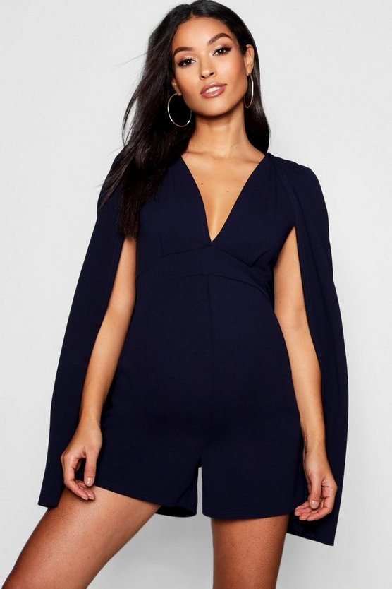 Maternity Cape Playsuit
