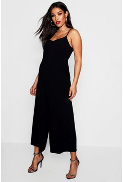 Womens Maternity Culotte Jumpsuit