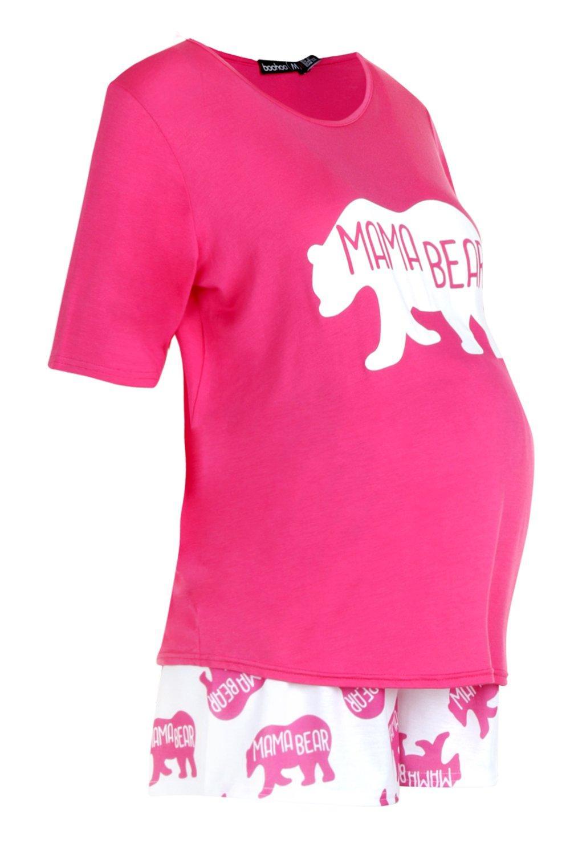 "Conjunto mono de Bear ""Mama pijama qrHqX"