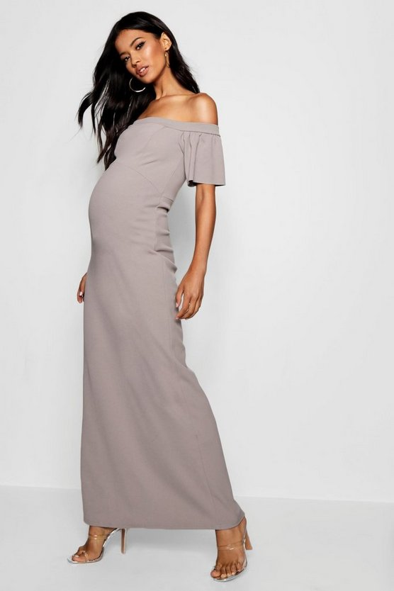Maternity Bethany Sleeve Maxi Dress