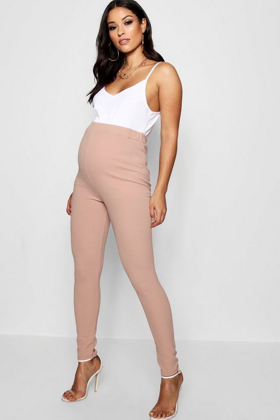 Maternity Crepe Over The Bump Legging