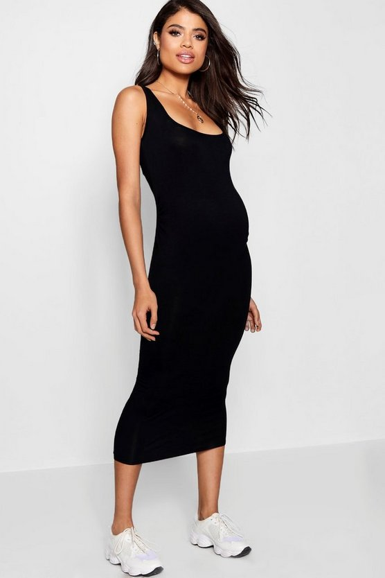Maternity  Over The Bump Bodycon Dress