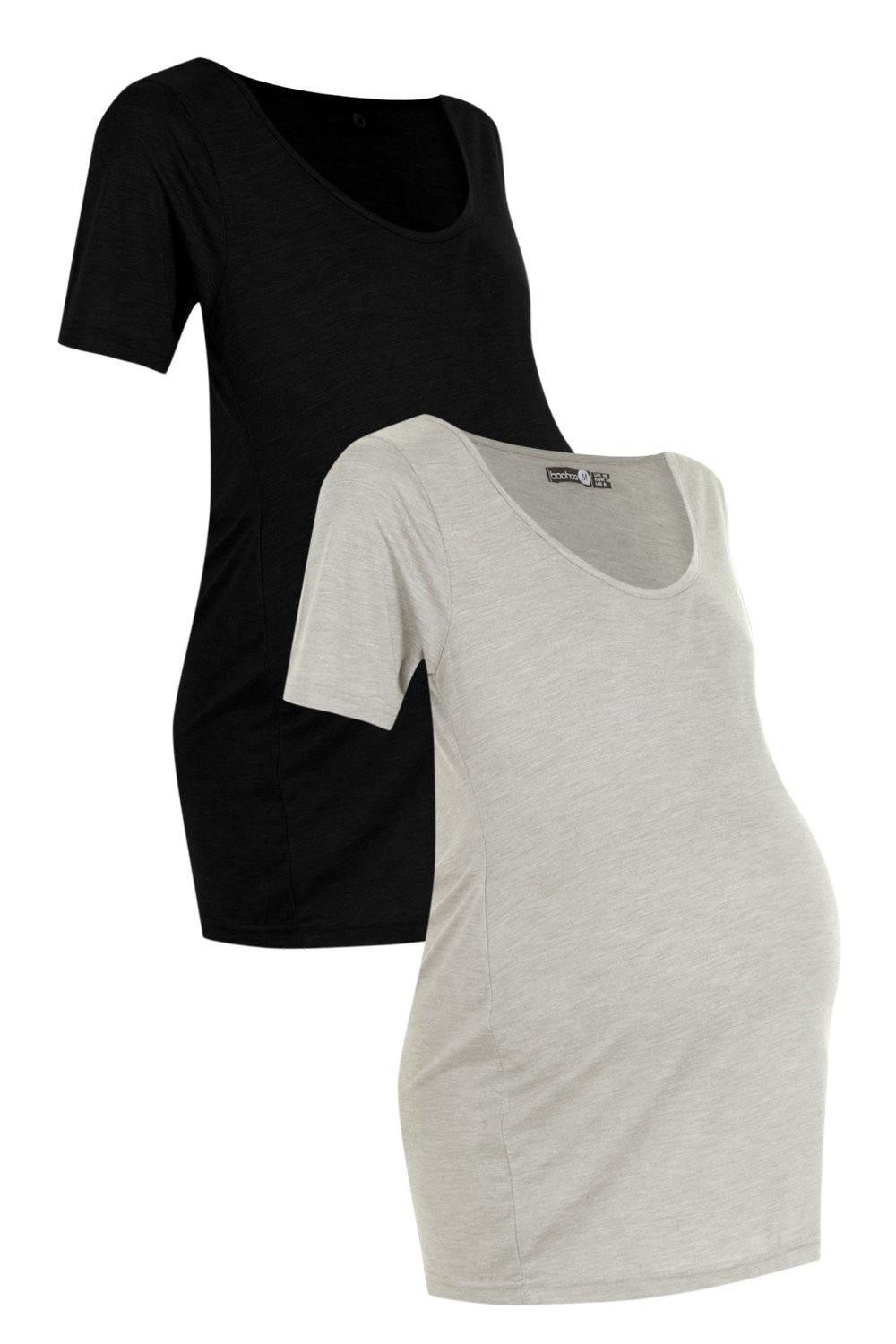 Basic Oversized Tee Maternity multi 2 Pack w7ExqCv
