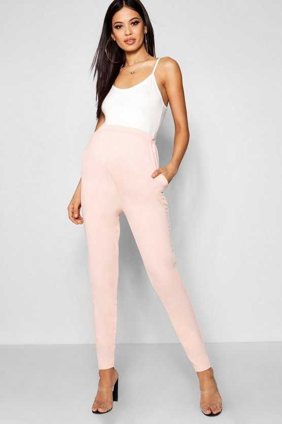Maternity Tailored Slim Leg Trousers