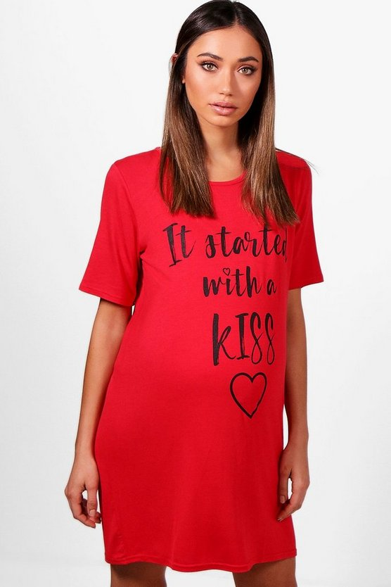 Maternity It Started With A Kiss Nightie