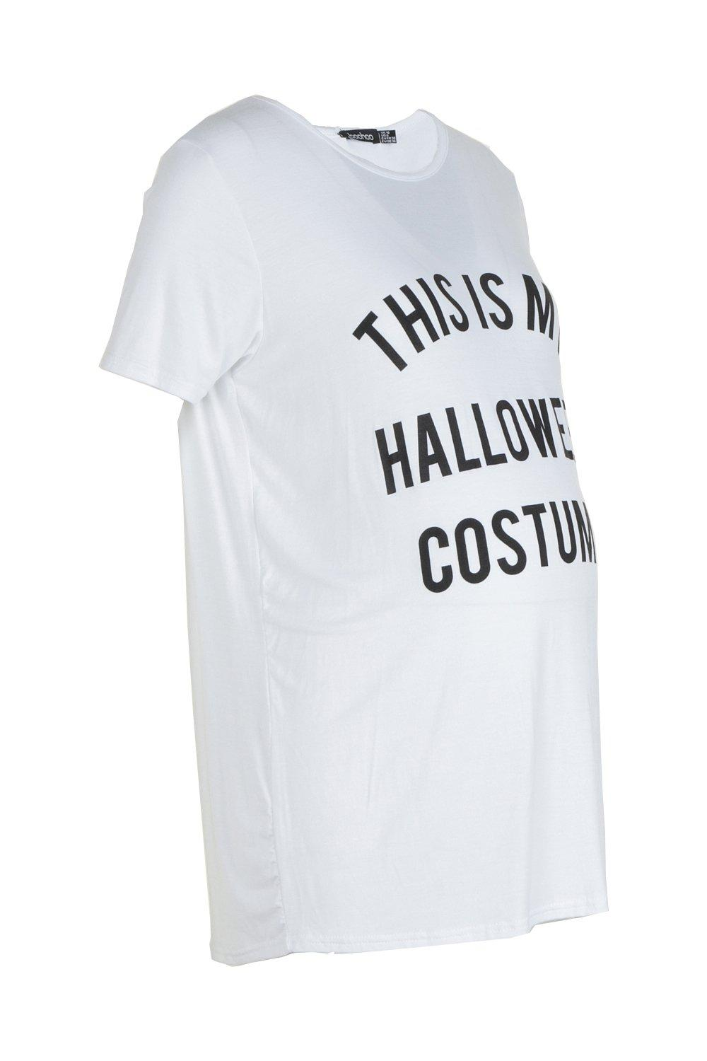 Printed Halloween Maternity white Maternity Tee Printed Printed Halloween white Tee Tee Halloween Maternity white Maternity xtYgAq