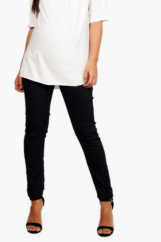 Maternity  over The Bump Jegging, Indigo, MUJER