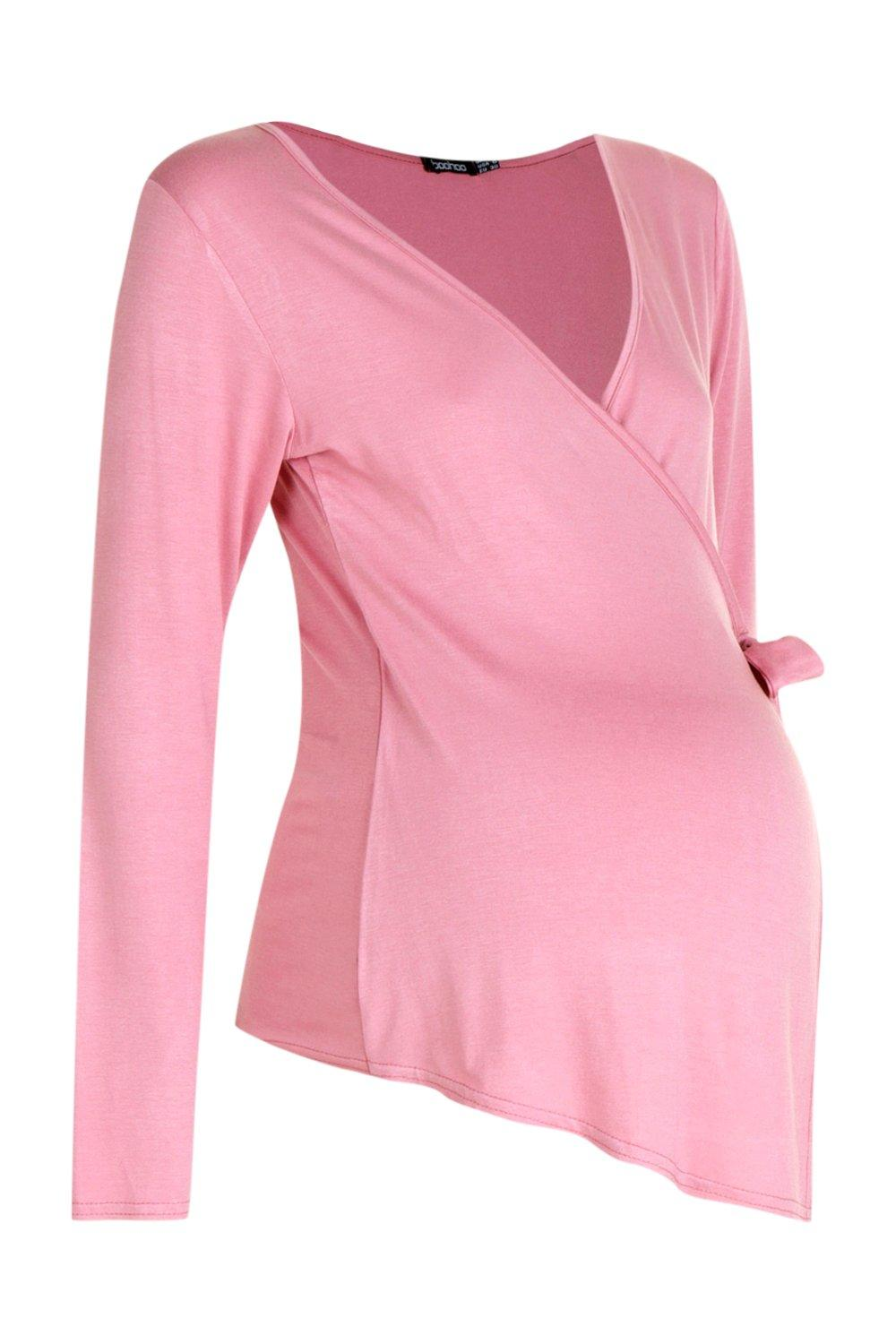 desert Wrap Sleeve Top Maternity rose Long q8ax0