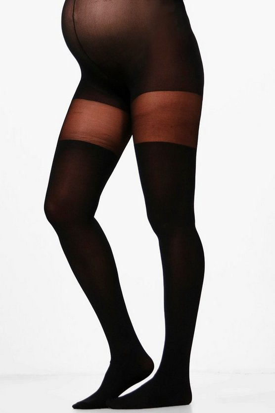 Maternity Sally Over The Knee Tights