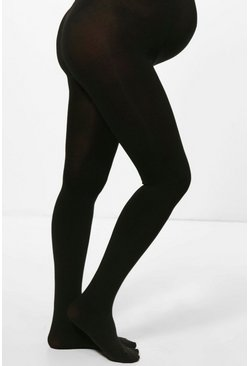 Womens Black Maternity Emilia 200 Denier Tights