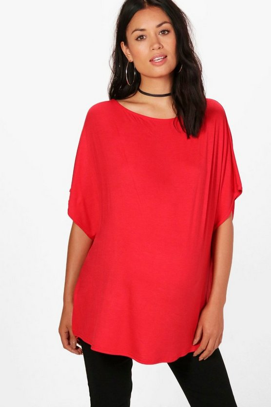 Maternity Maya Oversized Side Split Tee