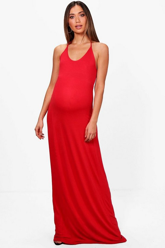 Maternity Selina Strappy Maxi Dress