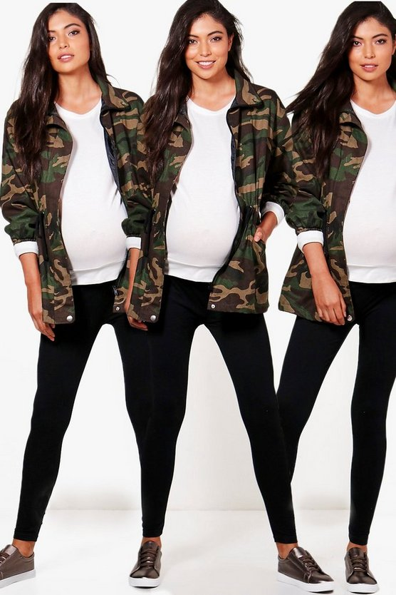 Maternity 3 Pack Over The Bump Legging