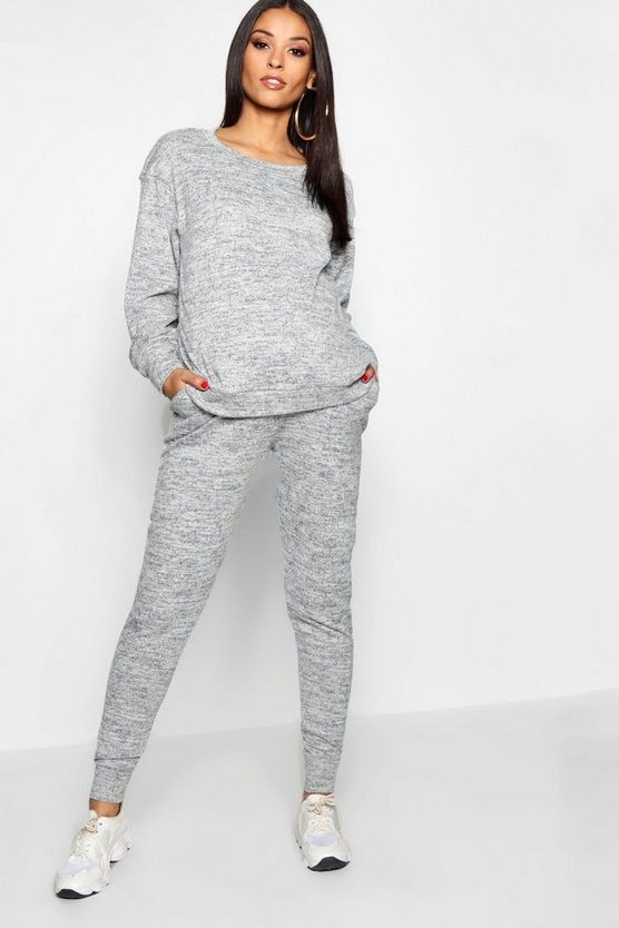 Ensemble de grossesse jogging et sweat confort