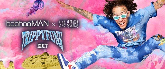 boohooMAN x Lil Skies Trippy Funk Edit