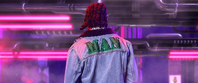 boohooMAN x Burna Boy Coats & Jackets