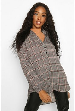 Multi Checked Blouse