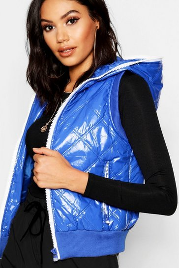 Womens Royal Padded Gillet
