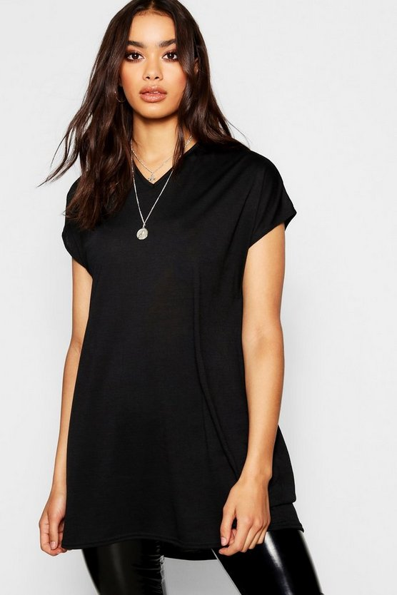 Womens Black Oversized T-Shirt