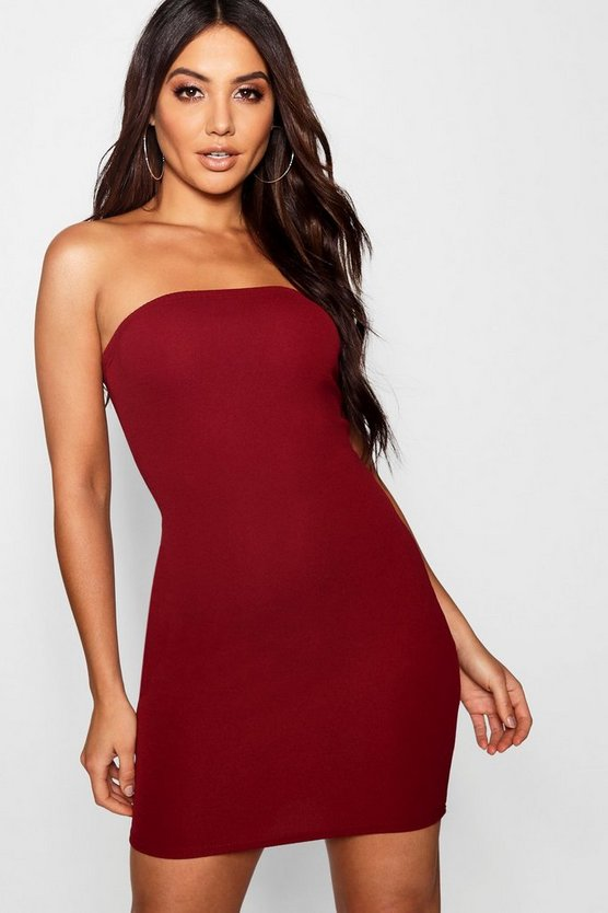 Bandeau Mini Dress