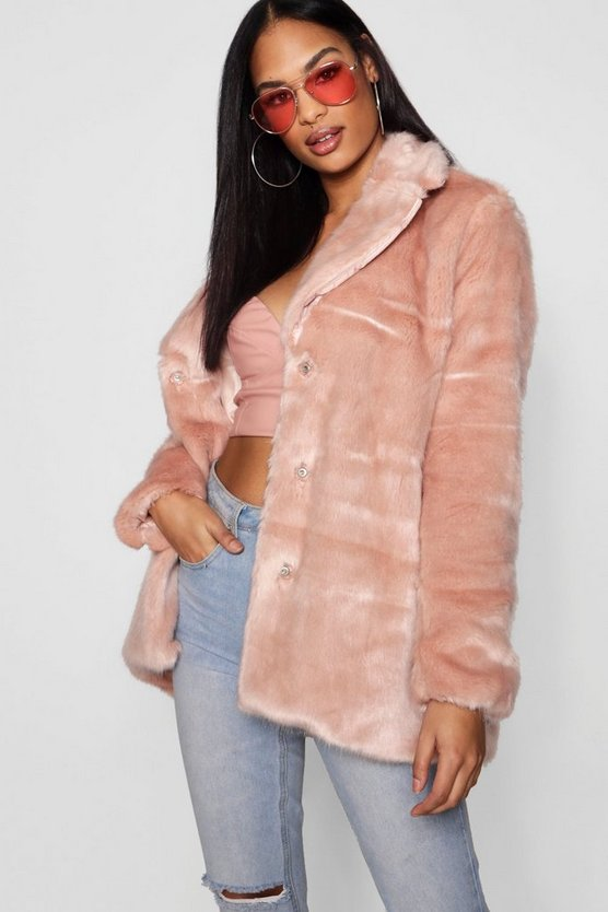 Amelia Faux Fur Coat