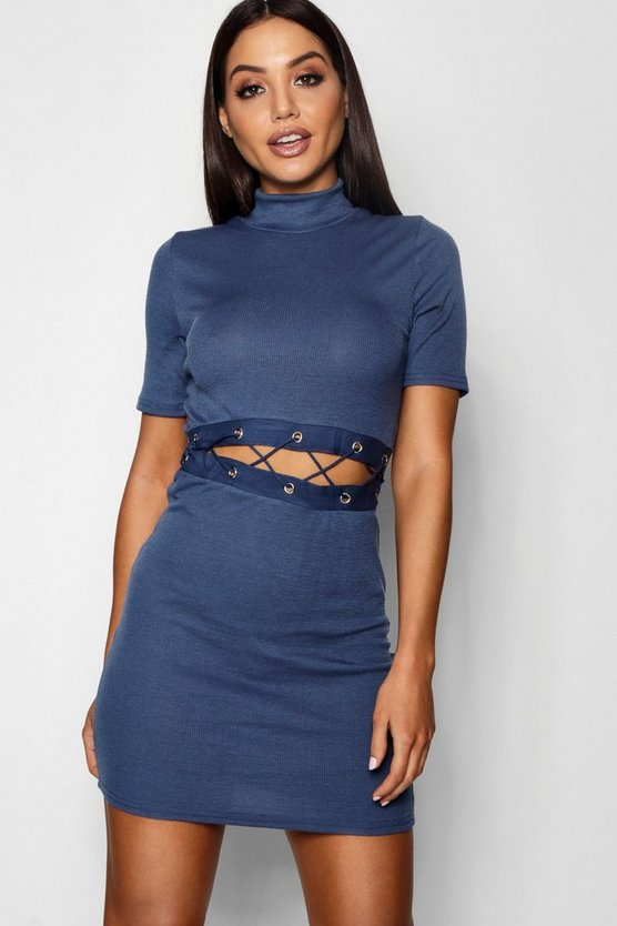 Cut Out Eyeley Dress