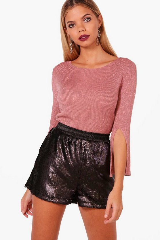 Flare Sleeve Jumper