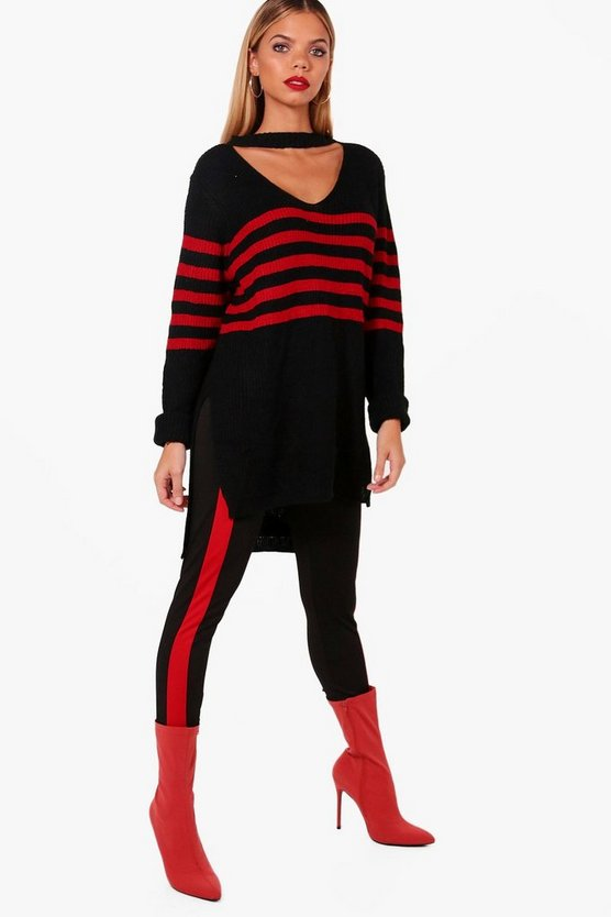 Oversized Striped Jumper