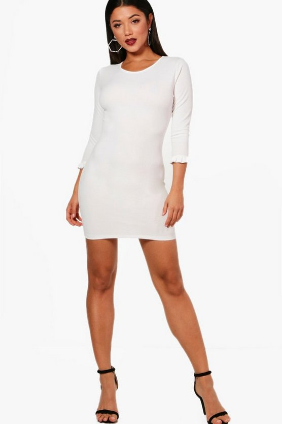Florence Frill Cuff Bodycon Dress