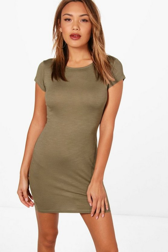 Hayley Cap Sleeve Bodycon Dress