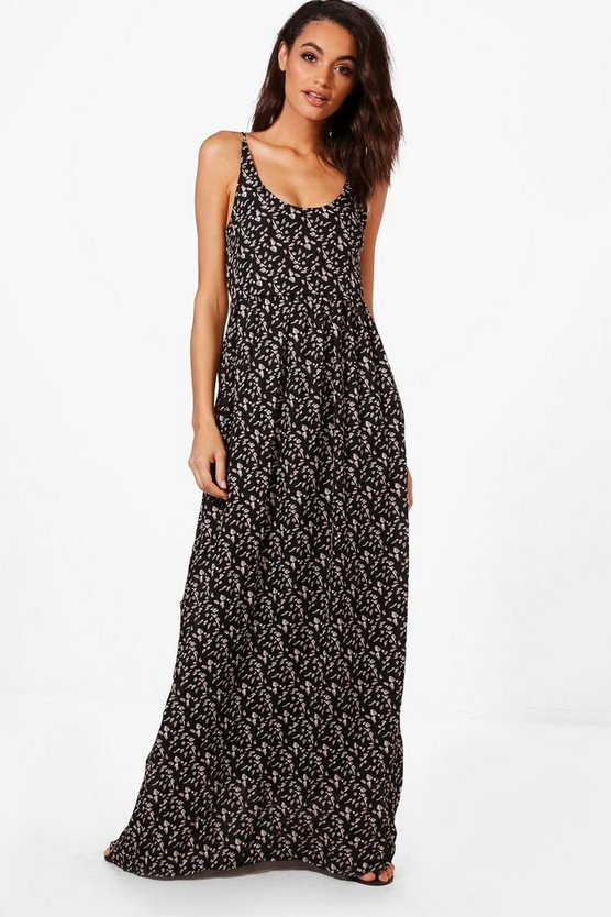 Eliza Printed Maxi Dress