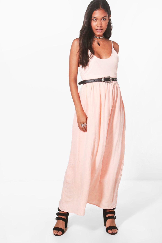 Amber Woven Maxi Dress
