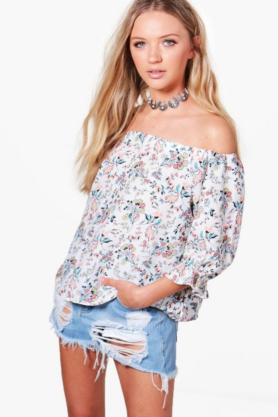 Lucy Floral Printed Top