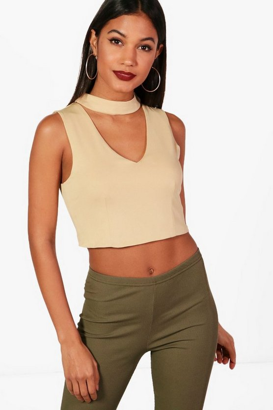 Lucy Choker Crop Top