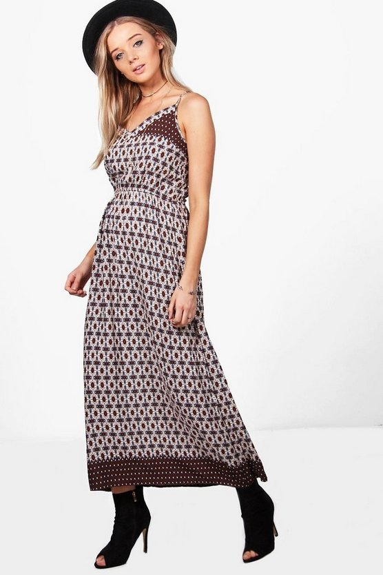 Cersei All Over Printed Maxi Dress