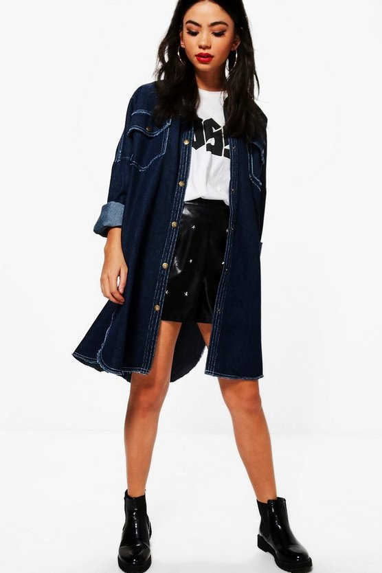 Sharon Oversized Denim Jacket