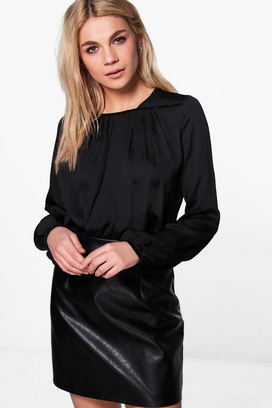 Erin Ruched Blouse