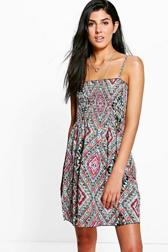 Womens Multi Isabella Summer Dress