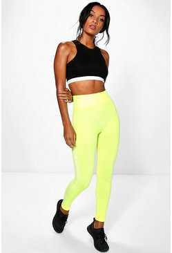 Womens Lime Skye Sport Leggings