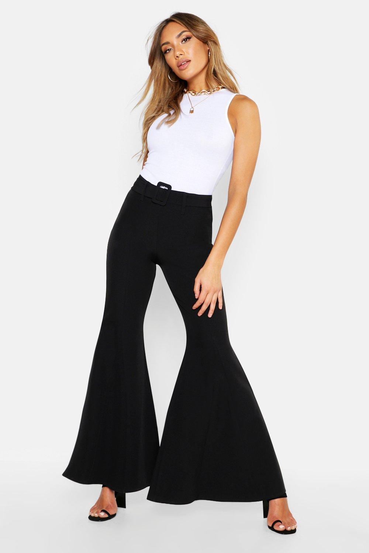 Super Flare Belted Trouser