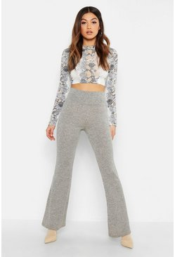 Womens Stone Cut + Sew Fit & Flare Pants