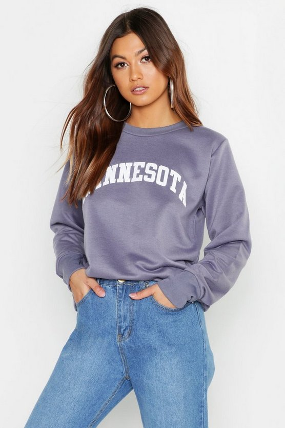 Minnesota Crew Neck Sweat