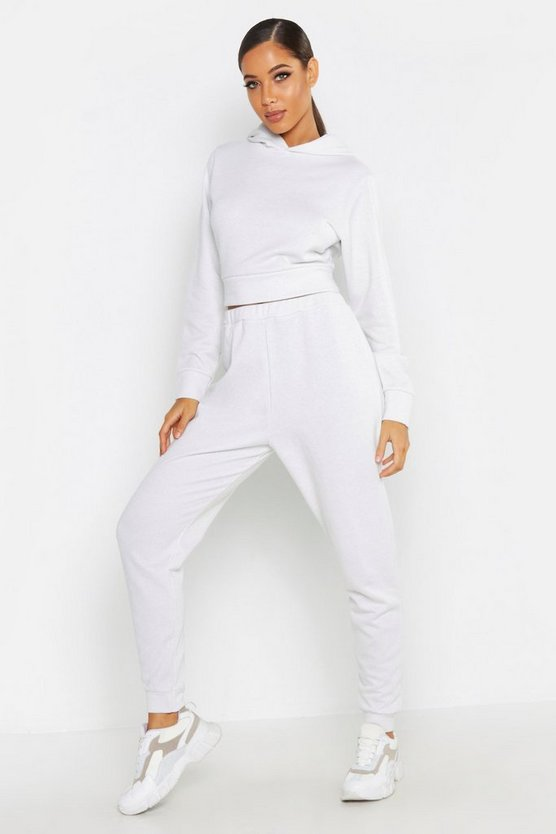 Shimmer Fabric Hooded Tracksuit