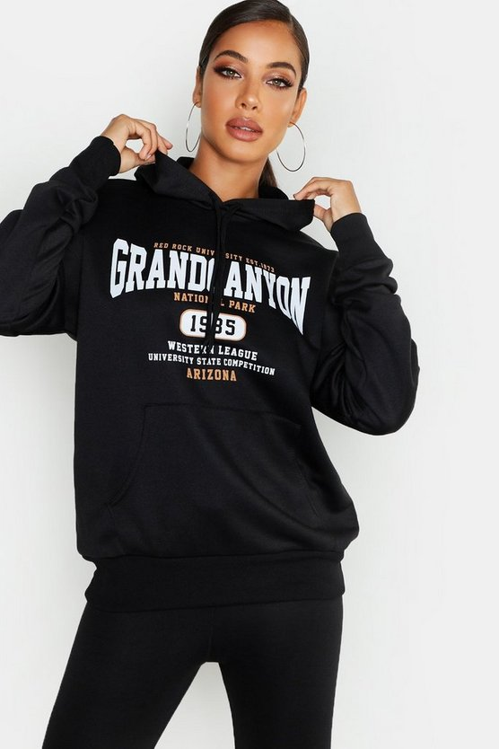 Basic Hoodie Grand Canyon